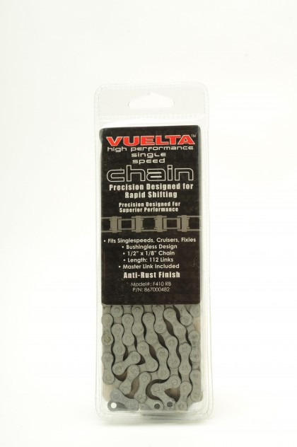 "Vuelta Chain Single Speed ½"" X 1/8"" Anti-Rust"