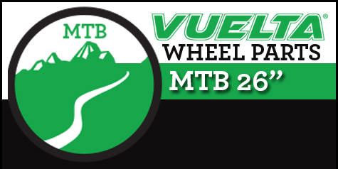 "Vuelta Mountain 26"" Wheel Replacement Parts"
