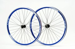 Zerolite Track Comp 700C Wheelset Single Speed Blue