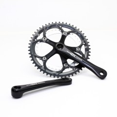 Vuelta Corsa Team Road Double Crankset, 53T/39T, 170 / 175mm