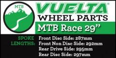 "Vuelta MTB Race 29"" Wheel Replacement Parts"