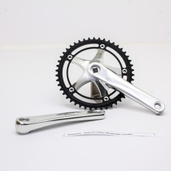 Vuelta Pista Pro Fixed Gear / Track Crankset, 46T, 165 / 170mm Silver