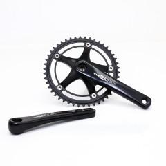 Vuelta Pista Pro Fixed Gear / Track Crankset, 46T, 165 / 170mm Black