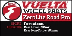 Zerolite Road Pro Wheel Replacement Parts