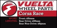 Vuelta Corsa Race Wheel Replacement Parts