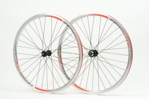 Zerolite Track Comp 700C Wheelset Single Speed Polished