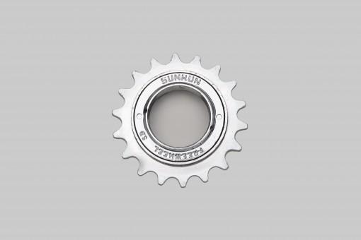 """SunRun BMX Single Speed Freewheel Nickel Finish 1/2x1/8"""""""