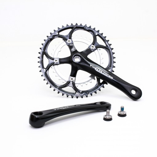 Vuelta Corsa Comp Road Crankset, 50T/34T, 170 / 175mm