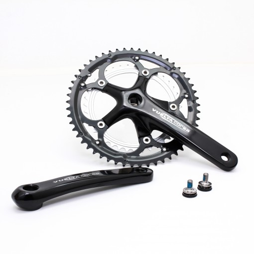 Vuelta Corsa Pro Road Double Crankset, 53T/39T, 170 / 175mm