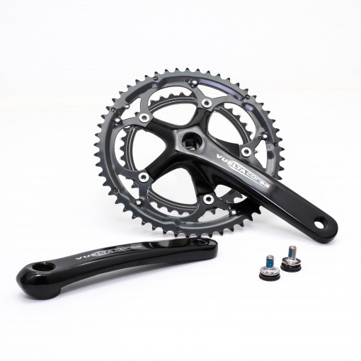 Vuelta Corsa Comp Road Double Crankset, 53T/39T, 170 / 175mm
