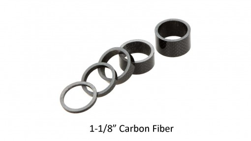 Vuelta Carbon Headset Spacers 1-1/8""