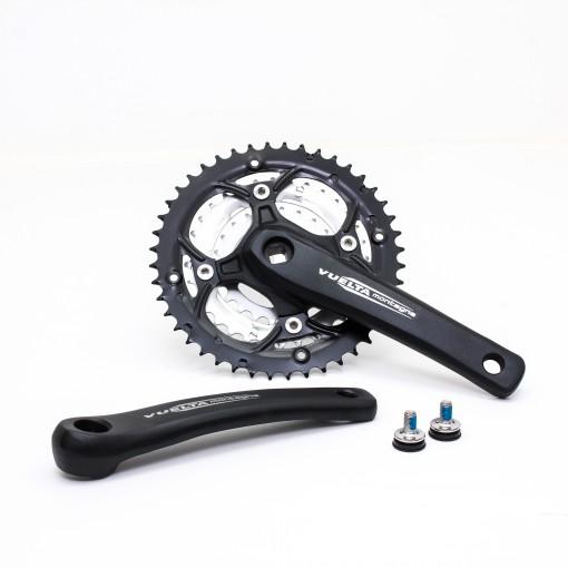 Vuelta MTB Pro Crankset, 44T/32T/22T, 170 / 175mm