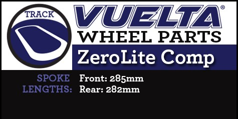 ZeroLite Track Comp Wheel Replacement Parts