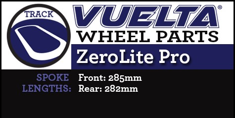 ZeroLite Track Pro Wheel Replacement Parts