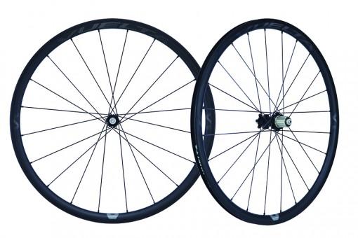 Vuelta Carbon Pro V1 Hand Built Carbon Road Clincher Disc Wheelset