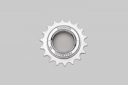 SunRun BMX Single Speed Freewheel Nickel Finish 1/2x1/8""