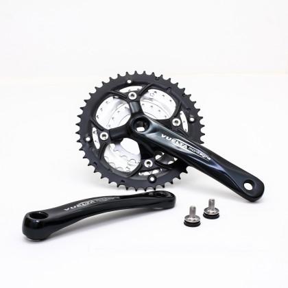 Vuelta MTB Comp Crankset, 44T/32T/22T, 170 /175mm