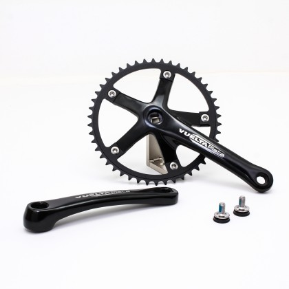 Vuelta Pista Team Fixed Gear / Track Crankset, 46T, 165 / 170mm Black