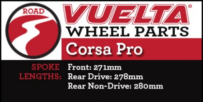 Vuelta Corsa Pro Wheel Replacement Parts