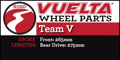 Vuelta Team V Wheel Replacement Parts