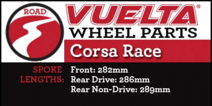 Vuelta Corsa Race Wheel Replacement Parts