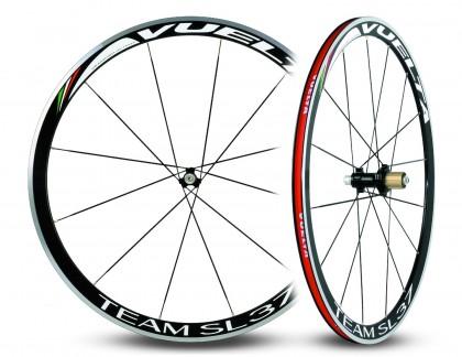 Vuelta Team SL37 Hand Built Alloy Straight Pull Clincher Road Wheelset