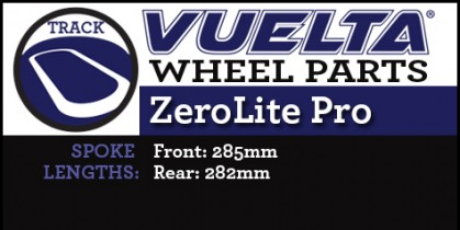 ZeroLite Track Pro Wheel Replacement Parts