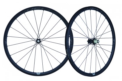 Vuelta Carbon Pro V1 Hand Built Carbon Road Clincher Disc Wheelset