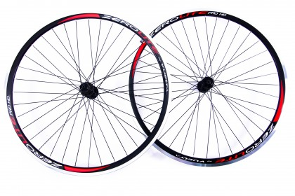 Zerolite Road Pro HD Hand Built Alloy Clincher Road Wheelset Shimano